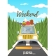 Weekend Loading Poster. - GraphicRiver Item for Sale