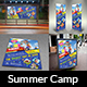Kids Summer Camp Advertising Bundle - GraphicRiver Item for Sale
