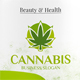 Cannabis Marijuana Logo - GraphicRiver Item for Sale