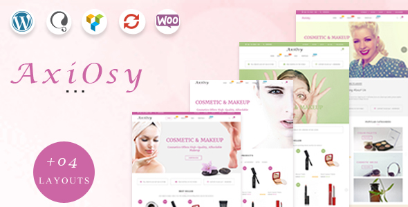 AxiOsy - Makeup & Beauty WooCommerce Theme