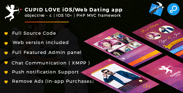 Cupid love iOS/Web App - CodeCanyon Item for Sale