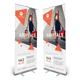 Fashion Roll-Up Banner 05 - GraphicRiver Item for Sale