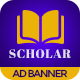 Scholar Education | HTML5 Google Banner Ad - CodeCanyon Item for Sale
