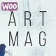 Artmag Magazine & Shop WordPress Theme Nulled
