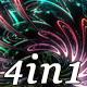 Abstract Flower - VJ Loop Pack (4in1)