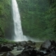 Amazing Nungnung Waterfall, Slow Motioned Falling Water Hitting Water Surface, Some Huge Rocks - VideoHive Item for Sale