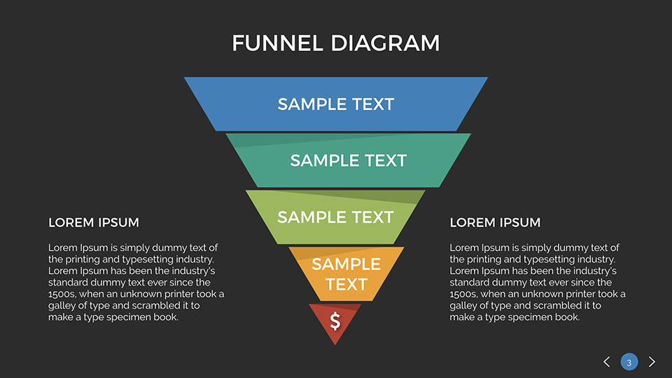 Funnel diagram keynote presentation template by sananik graphicriver funnel diagram keynote presentation template ccuart Choice Image
