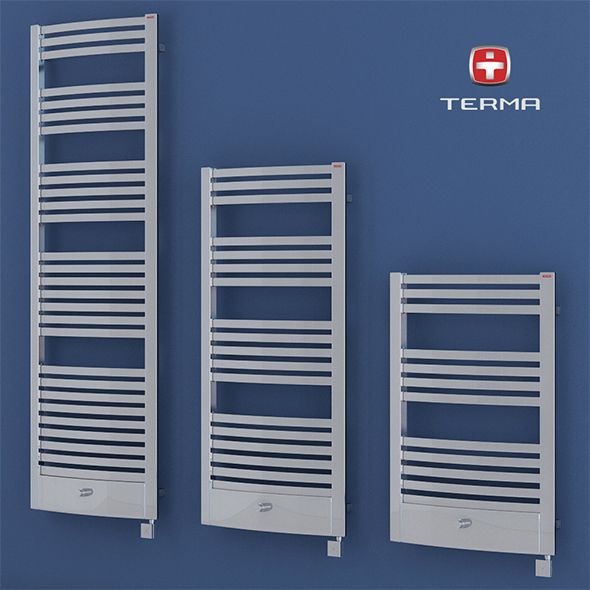 3DOcean Heated towel rail Terma Dexter pro 20250448