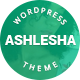 Ashlesha – Blog WordPress Theme (Personal)