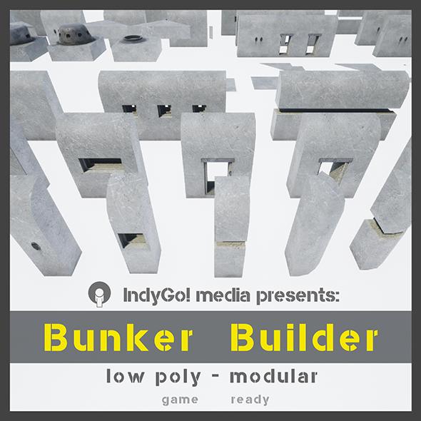 3DOcean Bunker Builder Asset Pack 20250661