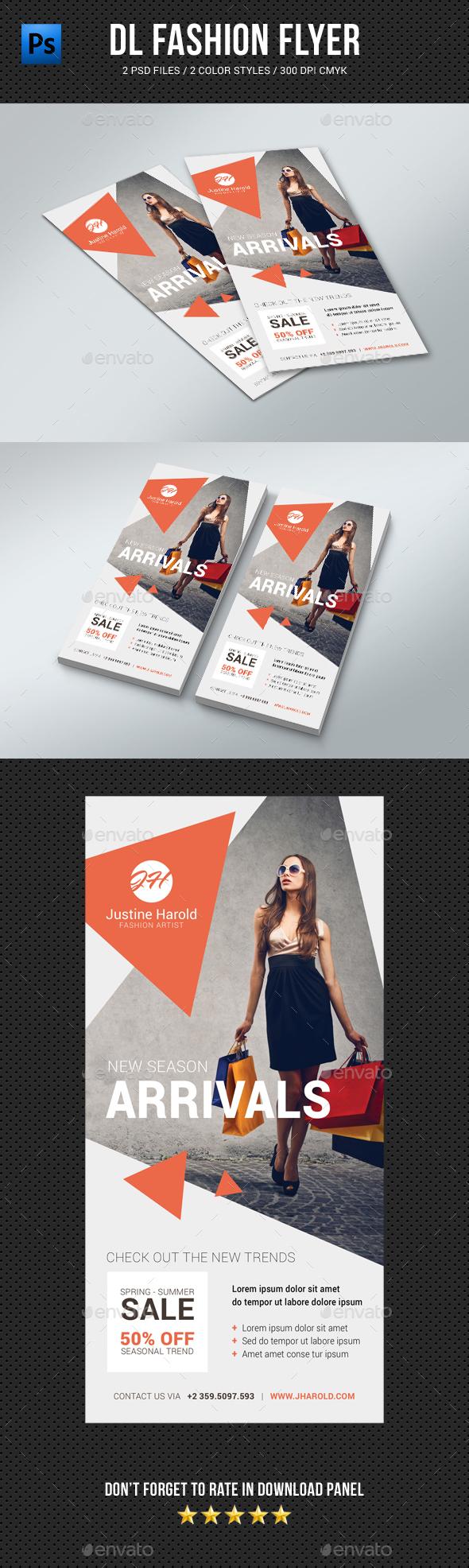 DL Fashion Flyer 03 - Commerce Flyers