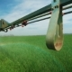Spraying Wheat Fields with Herbicides by 3D Nozzle Sprayer