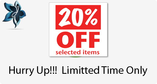 Offer 20% OFF For Limited Time