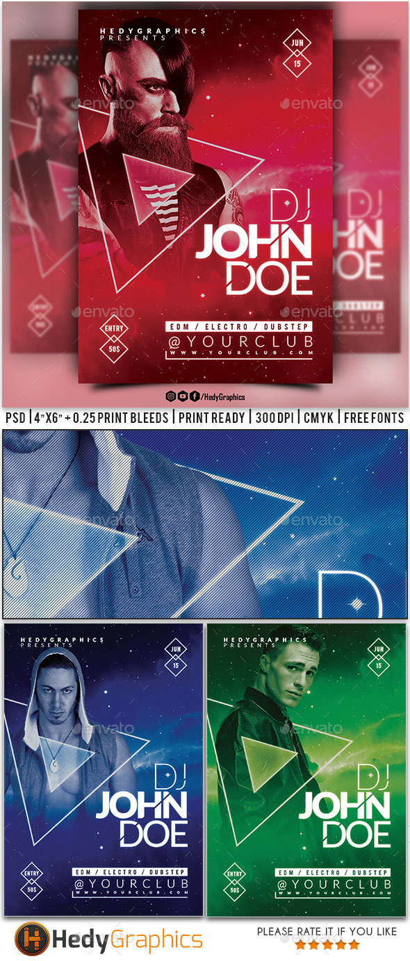 GraphicRiver Guest Artist Flyer 20250992