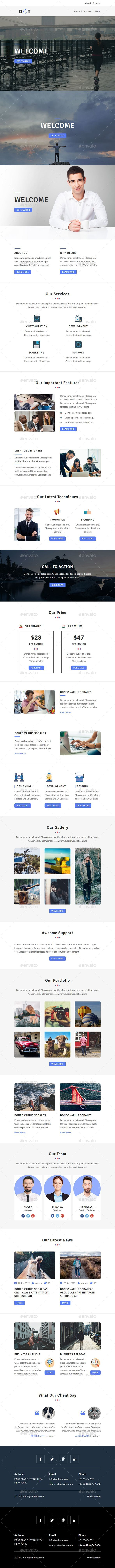 GraphicRiver DOT Email Newsletter PSD Template 20251131