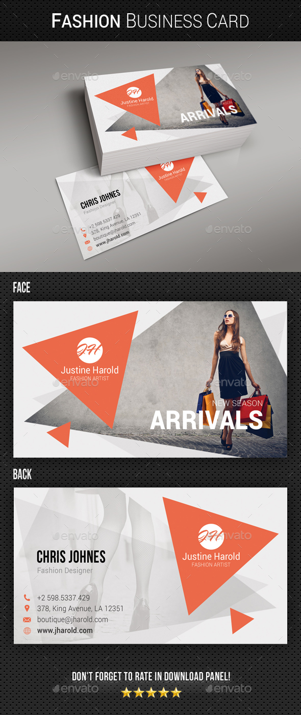 Fashion Business Card 10 - Creative Business Cards