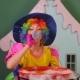 Girl Animator Lets Bubbles Happy
