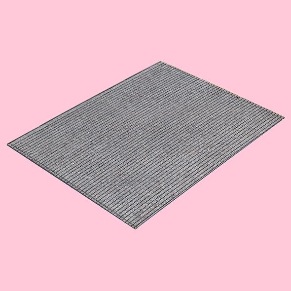 Scored Concrete (3D Scan) - 3DOcean Item for Sale