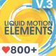 Liquid Motion Elements - VideoHive Item for Sale