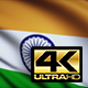 India Flag 4K - VideoHive Item for Sale