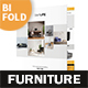 Furniture Store Bifold / Halffold Brochure 3