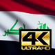 Iraq Flag 4K - VideoHive Item for Sale