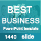 Best Business Powerpoint Presentation Template - GraphicRiver Item for Sale
