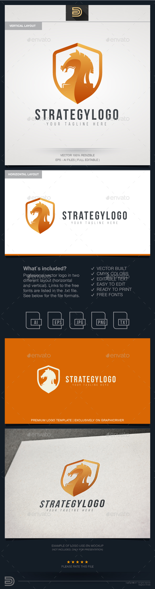 Strategic Logo - Objects Logo Templates