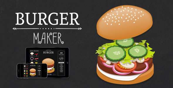 Burger Maker - HTML5 Game by demonisblack | CodeCanyon