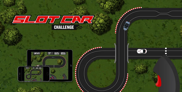 Slot Car Challenge - HTML5 Game - CodeCanyon Item for Sale