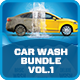 Car Wash Advertising Bundle Vol.1 - GraphicRiver Item for Sale