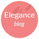 Elegance - Personal WordPress Blog Theme Nulled