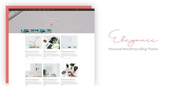 Elegance - Personal WordPress Blog Theme