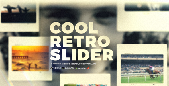 Dynamic Slideshow | Retro Slider (Retro) After Effects
