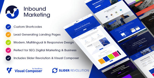 Image of Inbound Marketing | Inbound, Landing Page WordPress Theme
