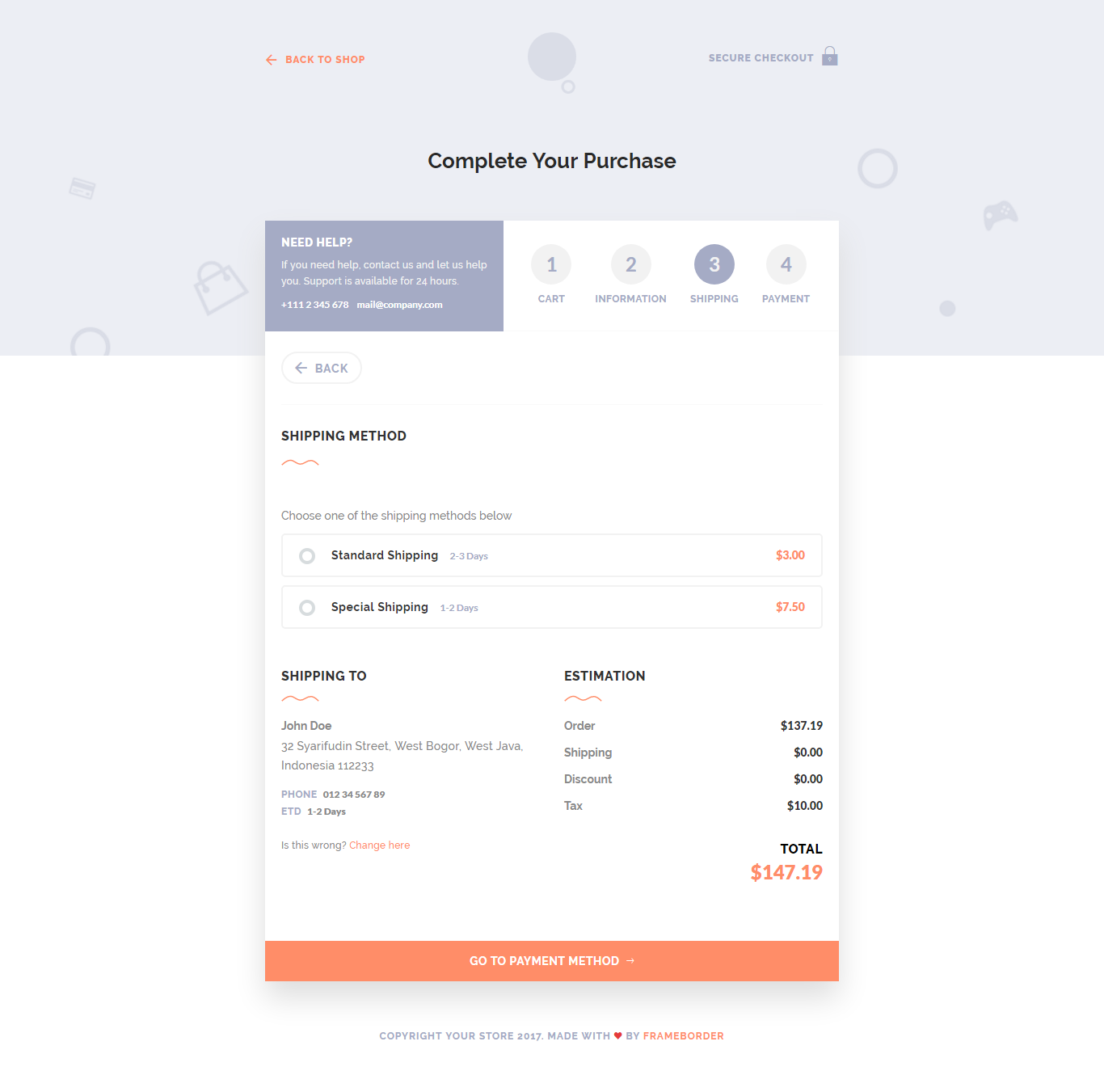 payment page template - Akba.greenw.co