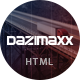 Dazimaxx - Multipurpose HTML Template - ThemeForest Item for Sale