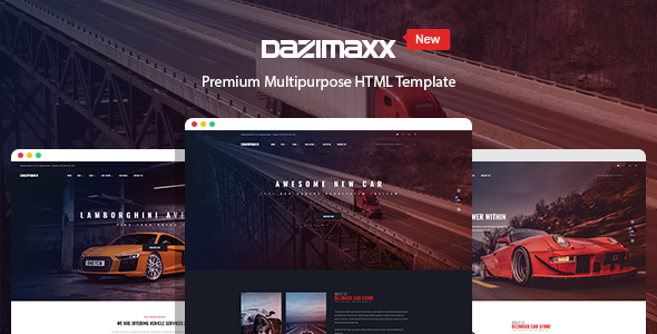 Dazimaxx - Multipurpose HTML Template