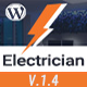 Electrician - Electricity Services WordPress Theme Nulled