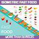 Isometric Fast Food - GraphicRiver Item for Sale