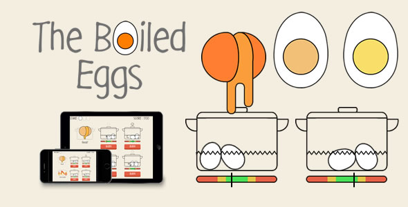 The Boiled Eggs - HTML5 Game - CodeCanyon Item for Sale