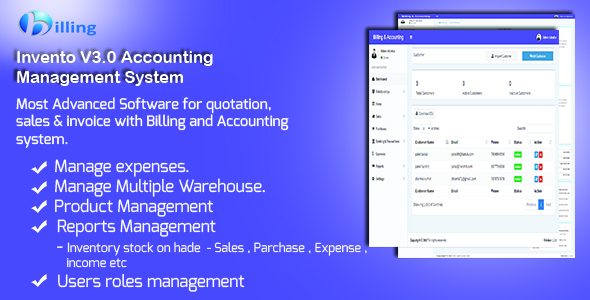 Invento v3.0 Accounting Management System