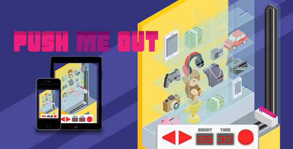 Push Me Out - HTML5 Game - CodeCanyon Item for Sale