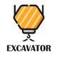 Excavator - Animated Coming Soon HTML Template