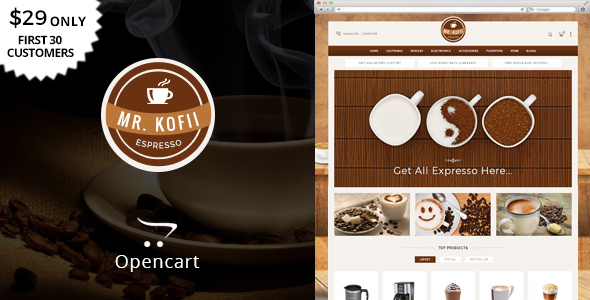 Mr Kofii - Multipurpose OpenCart Theme