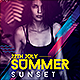 Summer Sunset Flyer