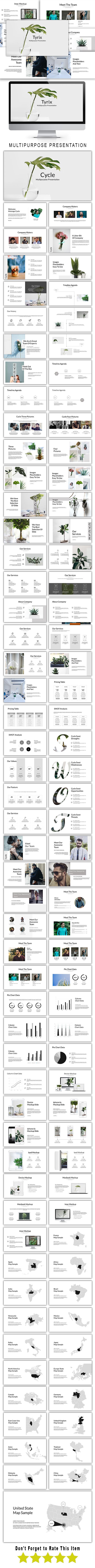 Tyrix Multipurpose Keynote Template - Keynote Templates Presentation Templates