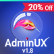AdminUX Dashboard | Bootstrap 4 Responsive HTML template Nulled