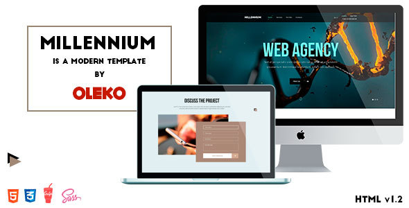 Millennium - Web Agency HTML Template - Creative Site Templates