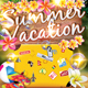 Summer Vacation Flyer - GraphicRiver Item for Sale